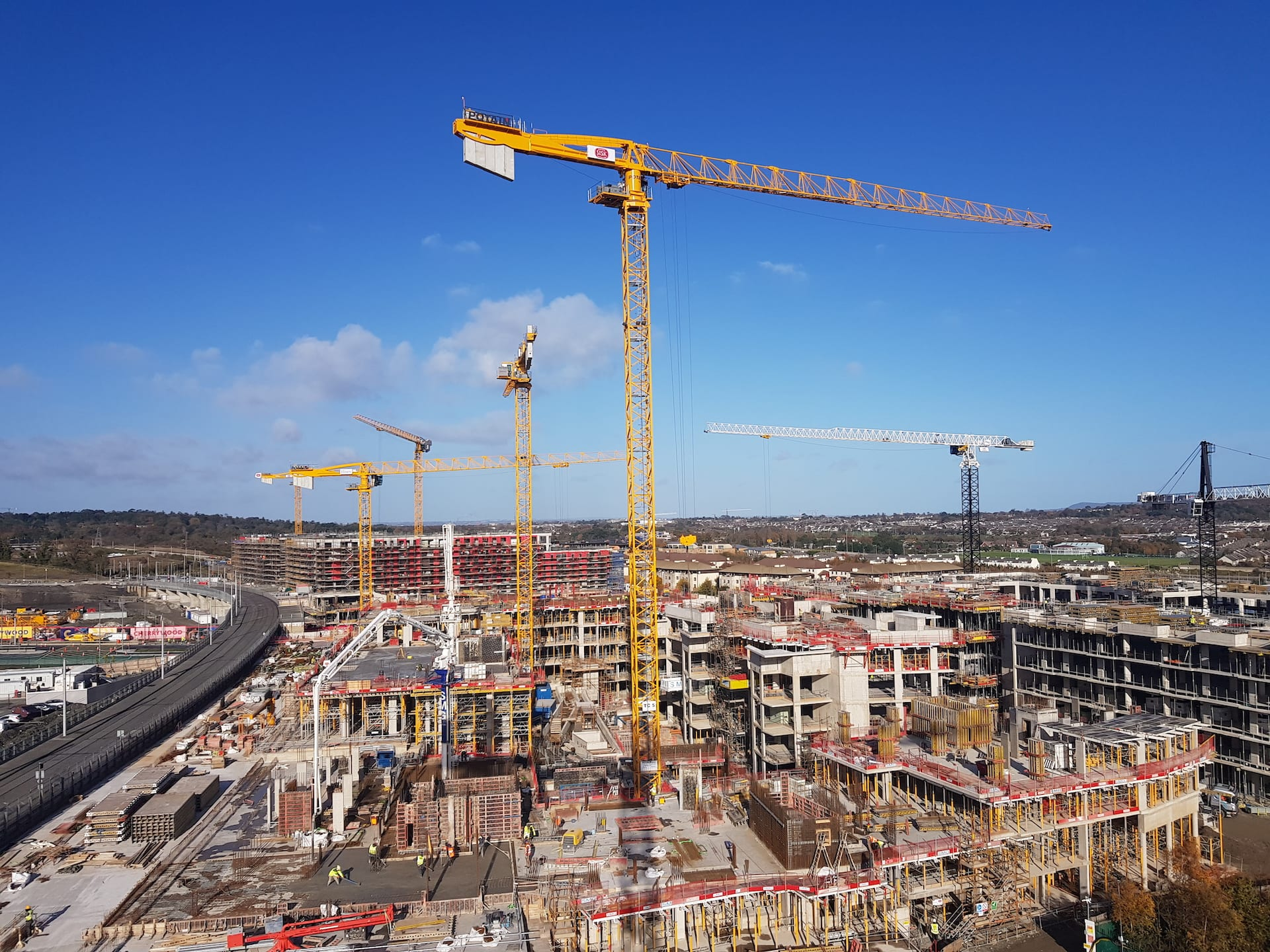 Inspectec Ireland carry out inspections of tower cranes and provide a comprehensive report